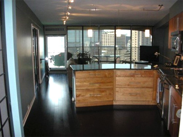 Commercial remodel reception areas